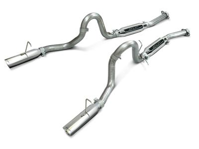 SLP Mustang Loudmouth Cat Back Exhaust System Stainless Steel (86-93) LX
