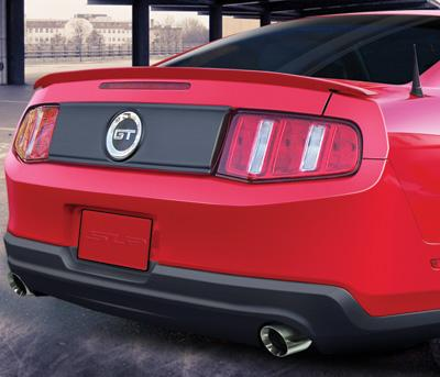 Mustang GT Rear Deck Lid Blackout Panel (10-12)