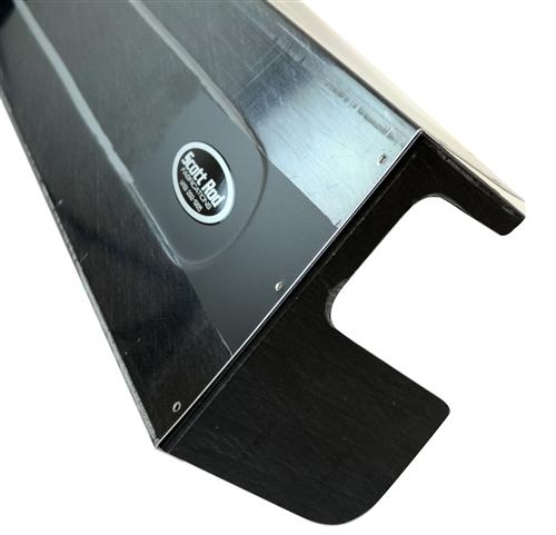 Scott Rod Mustang Aluminum Race Dash Black (79-86)