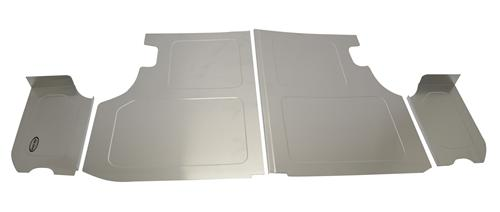 Scott Rod Mustang Trunk Floor & Side Cover Kit Aluminum (79-93) Coupe
