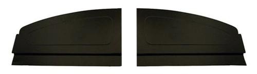Mustang Rear Aluminum Package Tray Cover Black (94-04) Coupe