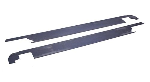 Mustang Smooth Frame Rail Covers (99-04)
