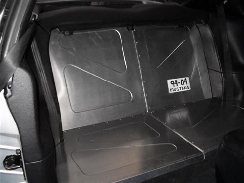 Scott Rod Mustang Rear Seat Delete Aluminum (94-04) Coupe