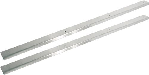 Mustang Scuff Plates Stainless Steel (79-93)