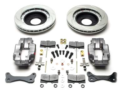 99-04 FORD LIGHTNING SSBC 4 PISTON FRONT BRAKE KIT - RED