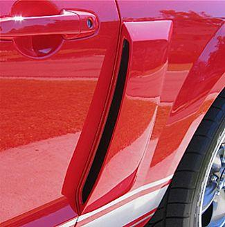 Street Scene Mustang Quarter Panel Side Scoops (10-14)