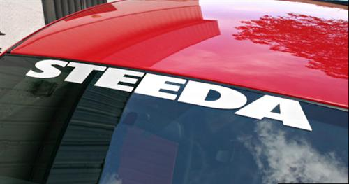 Steeda Windshield Banner White 1573501