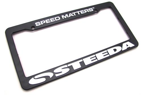 Steeda Speed Matters License Plate Frame