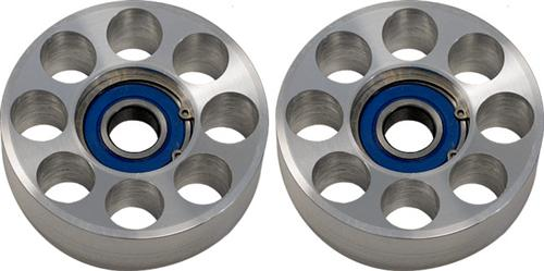 Steeda Mustang Two Piece Billet Idler Pulley Set (05-10) 5553349