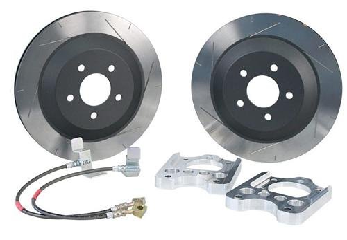 "05-14 MUSTANG STEEDA 13"" REAR BRAKE ROTOR UPGRADE KIT"