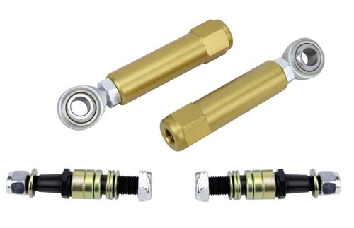 Steeda Mustang Bumpsteer Kit For Power Steering Rack Gold (79-93)