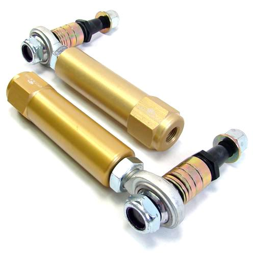 Steeda Mustang Bumpsteer Kit For Power Steering Rack Gold (79-93) - Picture of Steeda Mustang Bumpsteer Kit For Power Steering Rack Gold (79-93)