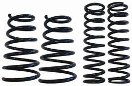 2007-12 MUSTANG COBRA GT-500 CONVERTIBLE STEEDA SPORT LOWERING SPRINGS