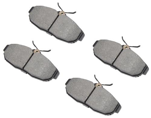 05-14 MUSTANG GT/V6 REAR STOPTECH STREET PERFORMANCE BRAKE PADS   - Picture of 05-14 MUSTANG GT/V6 REAR STOPTECH STREET PERFORMANCE BRAKE PADS