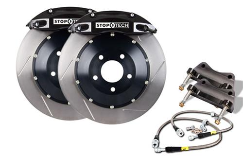 "Stop Tech Mustang 14"" Front Big Brake Kit w/ 6 Piston Calipers Black (05-14) 83.330.6700.51"