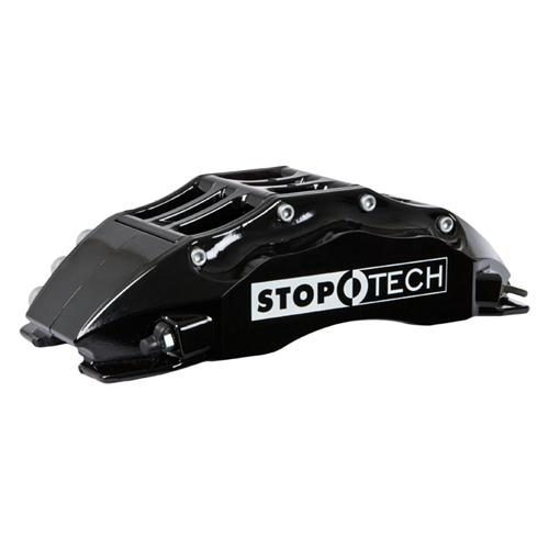 "StopTech Mustang 15"" Front Big Brake Kit w/ 6 Piston Calipers Black (07-14) 83.334.680.51"