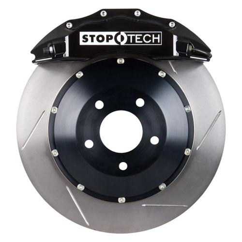 "Stop Tech Mustang 15"" Front Big Brake Kit w/ 6 Piston Calipers Black (07-14) 83.334.680.51"