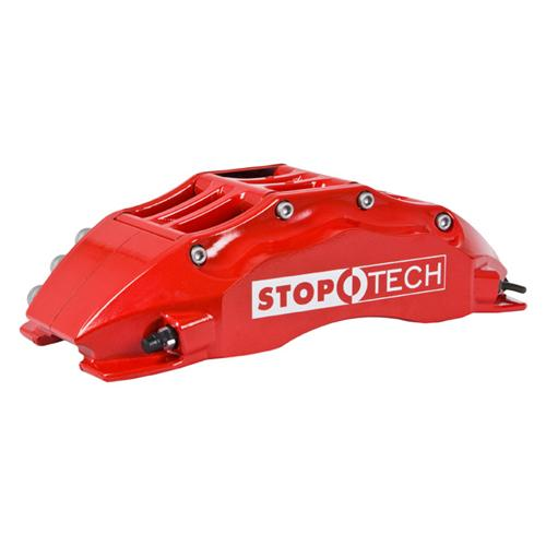 "Stop Tech Mustang 15"" Front Big Brake Kit w/ 6 Piston Calipers Red (07-14) 83.334.6800.71"