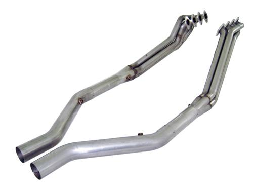 "Mustang Headers w/ 3"" Off Road Lead Pipes (05-10) GT"