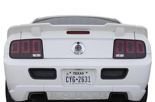 Taillight Decal Flat Black (05-09)