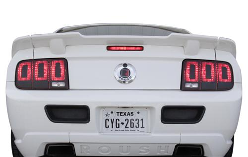 Taillight Decal Gloss Black Vinyl.(05-09