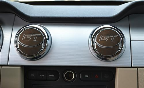 Mustang GT Logo Air Vent Register Covers (05-09)