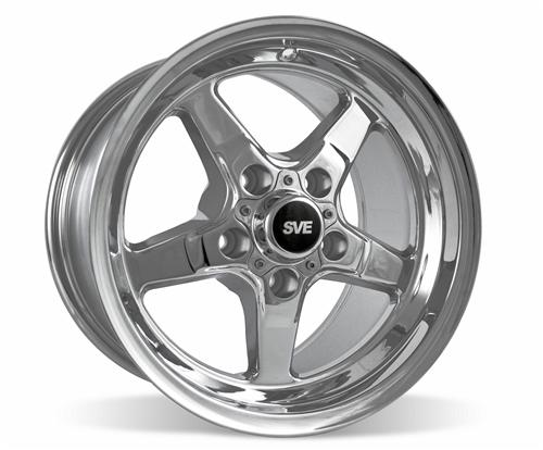 SVE Mustang Drag Wheel 15X10 Chrome (94-04)