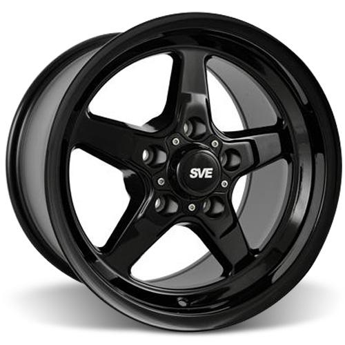 SVE Mustang Drag Wheel 15X10 Gloss Black (05-14)