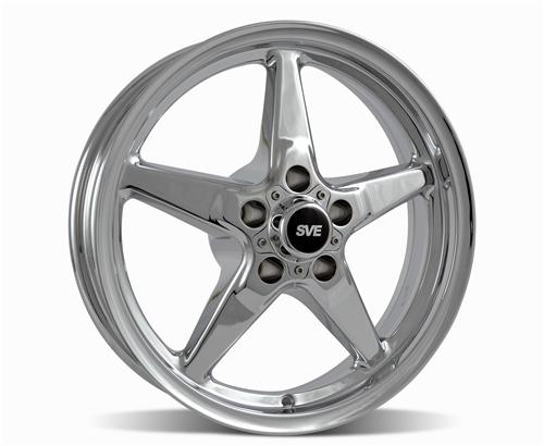 SVE Mustang Drag Wheel 17X4.5 Chrome (94-14)