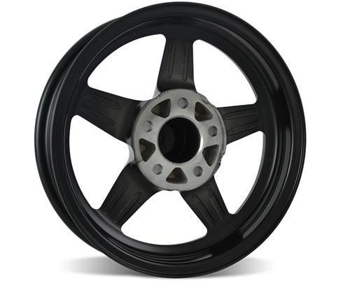 SVE Mustang Drag Wheel 17X4.5 Gloss Black (94-14)