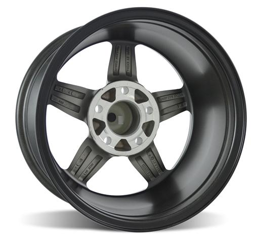 SVE Mustang Drag Wheel 15X8 Dark Stainless (94-14)