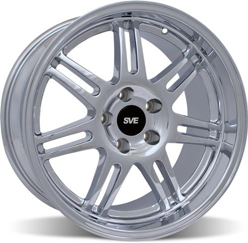 SVE Mustang Deep Dish Anniversary Wheel - 17x10 Chrome (94-04)