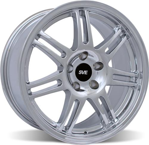 SVE Mustang Anniversary Wheel - 18x9 Chrome (94-04)