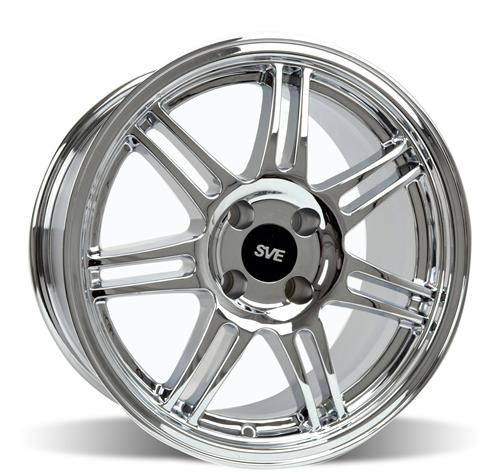 SVE Mustang Anniversary Wheel - 17x9 Chrome (79-93)