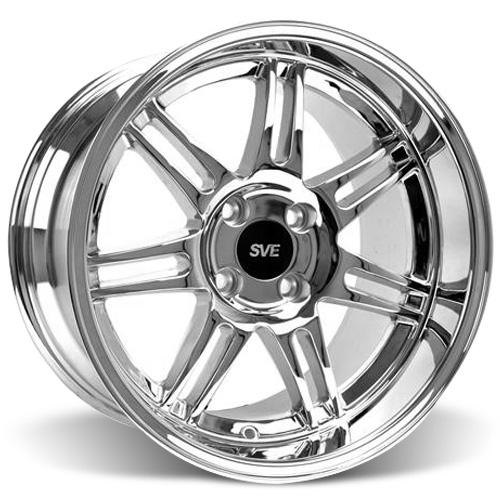 SVE Mustang Deep Dish Anniversary Wheel - 17x10 Chrome (79-93)