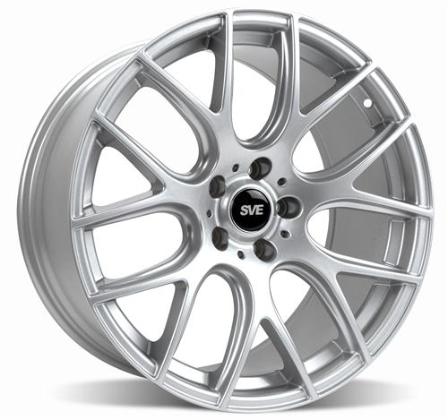 SVE  Mustang Drift Wheel - 19X9.5 Silver (05-15)