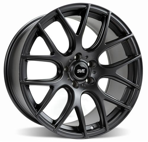 SVE  Mustang Drift Wheel- 19X9.5 Flat Black (05-14)
