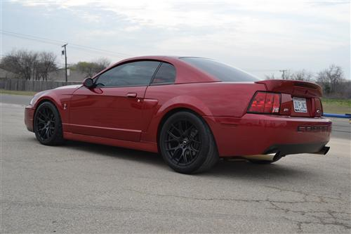 SVE Mustang Drift Wheel - 18x10 Flat Black (94-04)