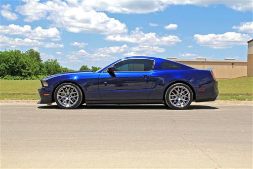 SVE Mustang Drift Wheel- 18x9 Dark Stainless (05-14) - SVE Mustang Drift Wheel- 18x9 Dark Stainless (05-14)