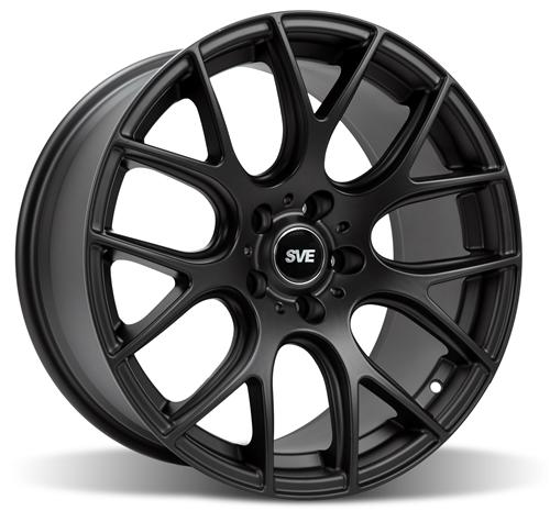 SVE  Mustang Drift Wheel - 18X10 Flat Black (05-15)