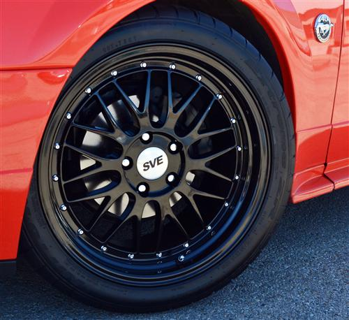 SVE Mustang Series 1 Wheel Kit Gloss Black (94-04)