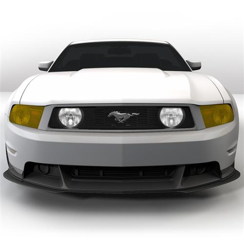 Mustang Yellow Headlight Tint (10-12) - Mustang Yellow Headlight Tint (10-12)
