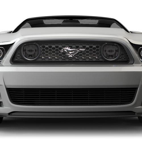 Mustang Smoked Fog Light Tint (13-14) GT - Mustang Smoked Fog Light Tint