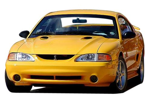 Mustang Smoked Cobra Fog Light Tint (94-98) - Picture of Mustang Smoked Cobra Fog Light Tint (94-98)