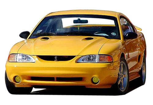1994-98 Mustang Cobra Yellow Fog Light Tint   This is a Yellow tinted decal for the fog lights. Photoshop or get with Jeff. O for pictures - Picture of 1994-98 Mustang Cobra Yellow Fog Light Tint