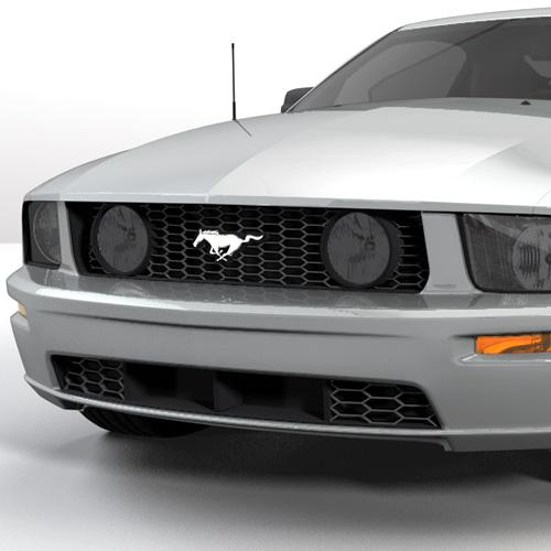 Mustang Smoked Fog Light Tint (05-09)