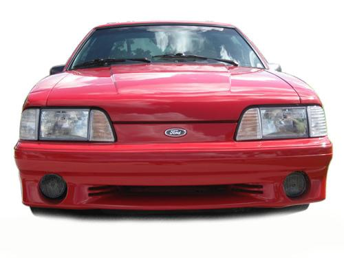 1987-93 Mustang Smoked Fog Light Tint   This Is Our Tinted Decal for The 87-93 GT Fog Light. Photoshop or Get Pic From Jeff O. - Picture of 1987-93 Mustang Smoked Fog Light Tint