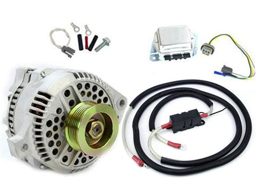 SVE Mustang 130 Amp Alternator 1g to 3g Upgrade (79-85) - Picture of SVE Mustang 130 Amp Alternator 1g to 3g Upgrade (79-85)