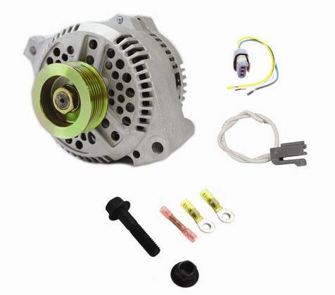 SVE Mustang 130 Amp Alternator Upgrade Kit (86-93) 5.0L 5.8L - Picture of SVE Mustang 130 Amp Alternator Upgrade Kit (86-93) 5.0L 5.8L