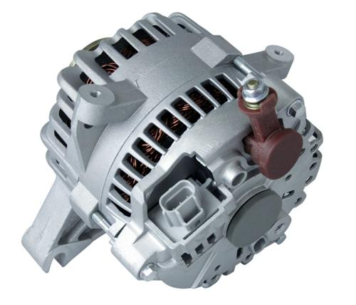 1999-04 Mustang GT SVE 105 Amp Alternator  ***** Rec. Please Remove From Box And Remove Labels - 99-04 Mustang GT SVE 105 Amp Alternator Rear Picture
